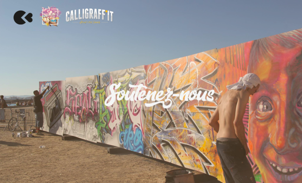 Visuel du projet Calligraff'it - Evénements street art 2019
