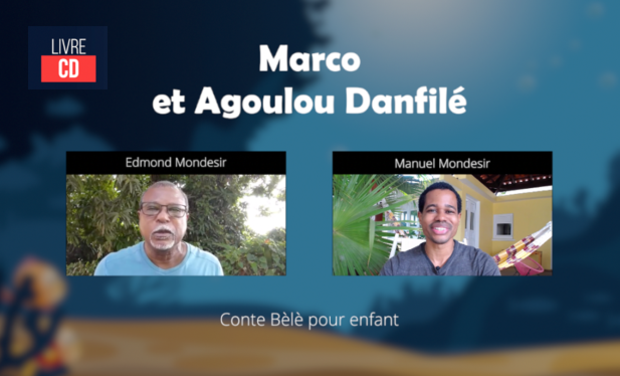 Visuel du projet Marco et Agoulou Danfilé - Conte Bèlè pour enfants