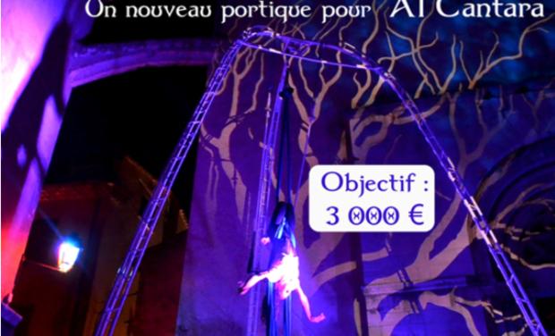 Project image Un portique pour Al Cantara