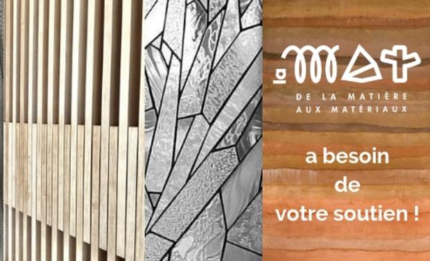 Visueel van project Une matériauthèque pour l'architecture, la décoration, le design,