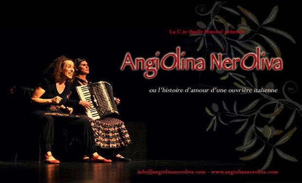 Visuel du projet AngiOlina NerOliva  ou l'histoire d'amour d'une ouvrière italienne