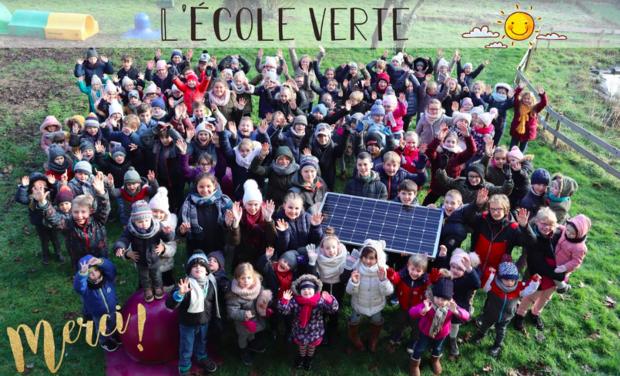 Visuel du projet L'école Saint-Henri Houthem en photovoltaïque