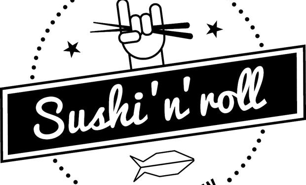 Project visual SUSHI 'N' ROLL LA MARQUE DES GARS DE LA MONTAGNE