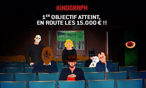 Project visual KINOGRAPH : le 1er cinéma éphémère de Bruxelles