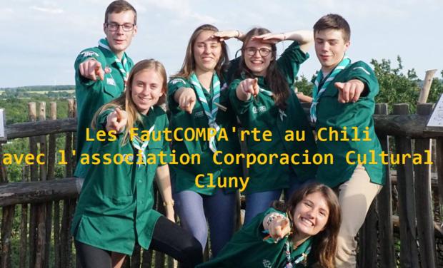 Project visual Projet scout solidaire : Les FautCOMPA'rte au Chili !