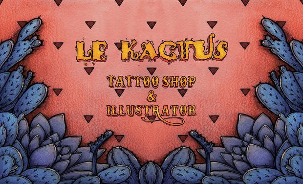 Project visual Le Kactus Tattoo Shop and Illustrator