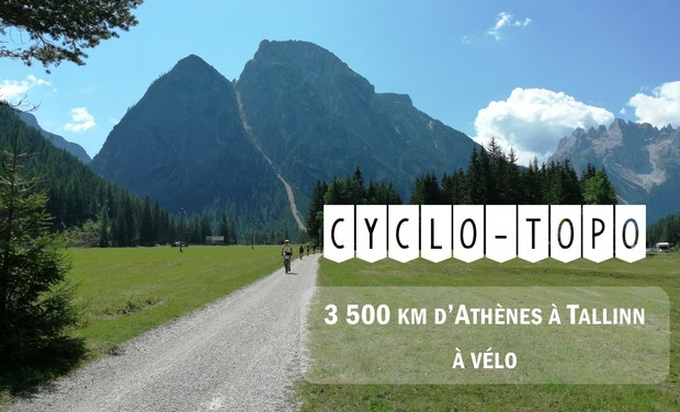 Project visual 3500 km à vélo d'Athènes à Tallinn