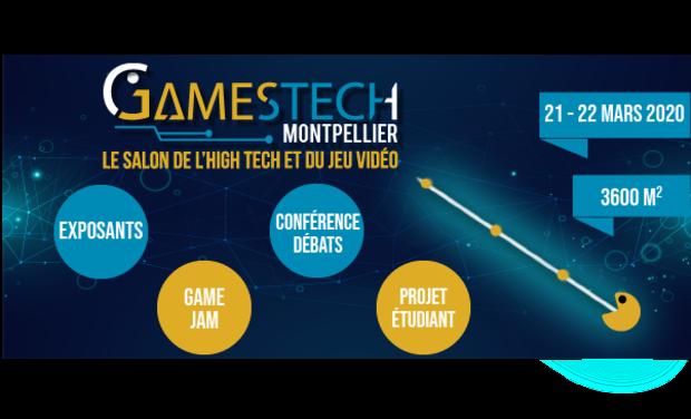 Visuel du projet 1er Salon High Tech et Jeu Vidéo à Montpellier