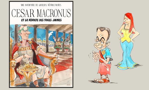 Visuel du projet César Macronus et la révolte des toges jaunes