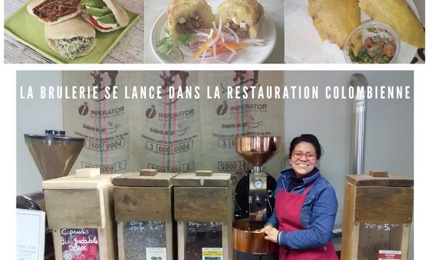 Visuel du projet La Brulerie du Lys se lance dans la restauration colombienne !