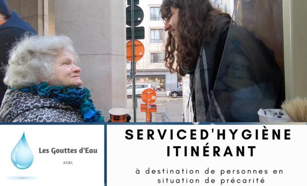 Visuel du projet Un camping-car afin de proposer des douches à des personnes précarisées