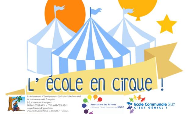 Visuel du projet L'école communale de Silly rêve d'inviter un cirque à l'école!