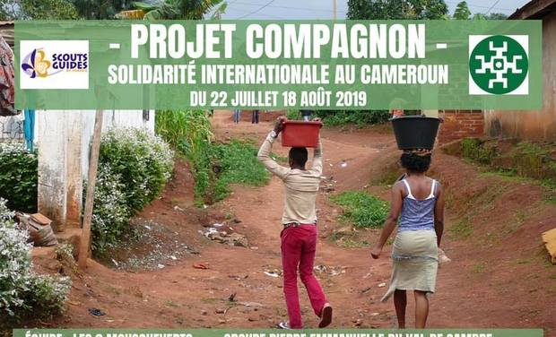 Project visual Projet Solidaire au Cameroun Juillet 2019