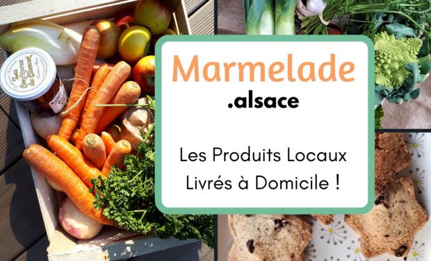 Project visual MARMELADE : le Marché Local Livré à Domicile !