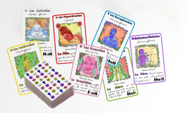 Visuel du projet Publiez un jeu des 7 familles sur les plantes médicinales & vertueuses