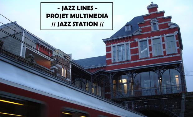 Project visual JAZZ LINES - nouveau projet multimédia et collaboratif à la Jazz Station !