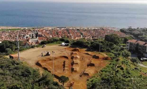 Project visual On relance le BMX en Corse