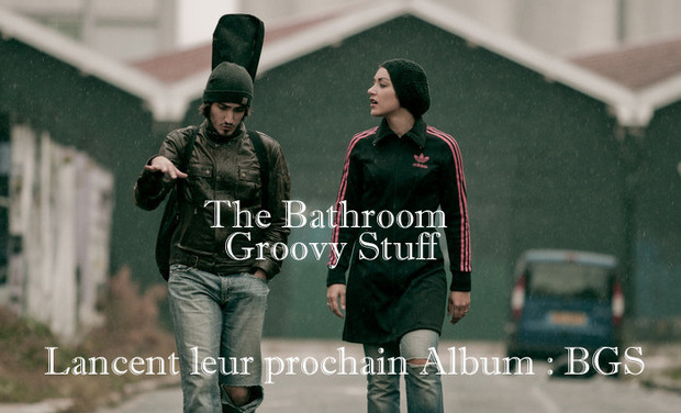 Project visual Enregistrement du premier EP de The Bathroom Groovy Stuff