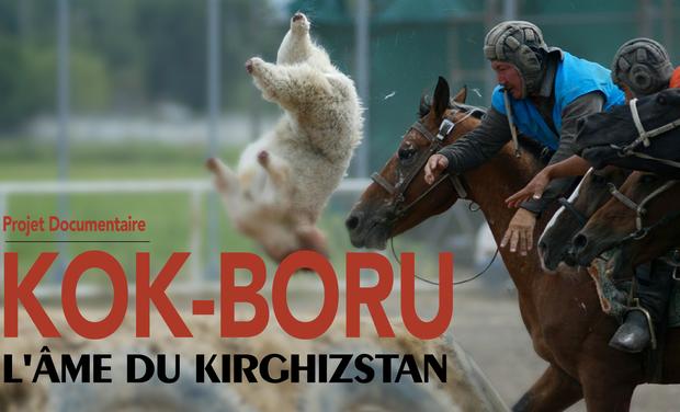 Project visual Kok-Boru, l'âme du Kirghizistan