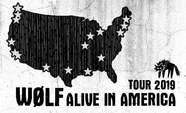 Visuel du projet WØLF Alive in America!