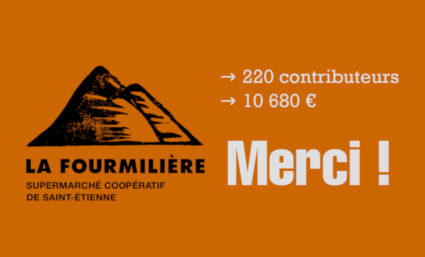 Visuel du projet La Fourmilière - supermarché coopératif de Saint-Étienne