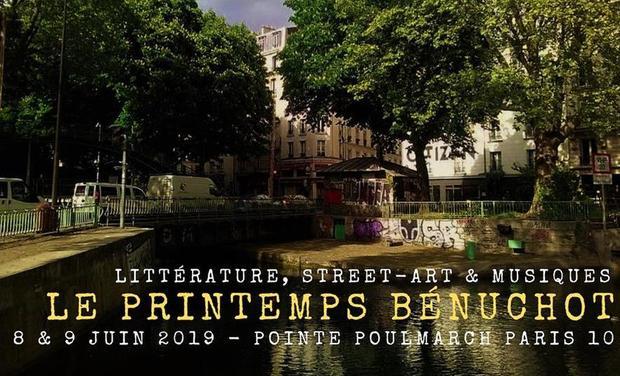 Visuel du projet Le Printemps bénuchot, festival de littérature, musiques et street-art