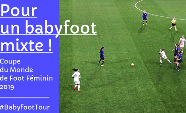 Visuel du projet Un babyfoot mixte pour la Coupe du Monde de Foot Féminin 2019