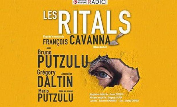 """Visuel du projet Théâtre """"Les RITALS"""", CAVANNA à CHAUMES en BRIE"""