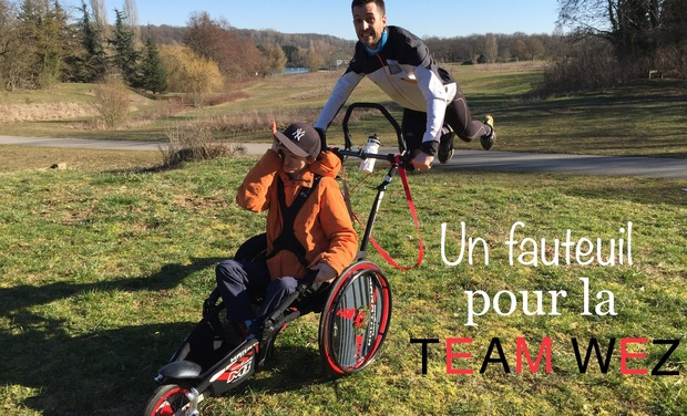 Visuel du projet Un fauteuil pour la Team Wez