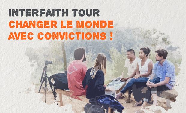 Visuel du projet InterFaith Tour - Changer le monde avec convictions !