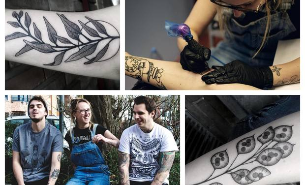Project visual MACA TATTOO : l'aménagement d'un salon de tatouage à Wavre