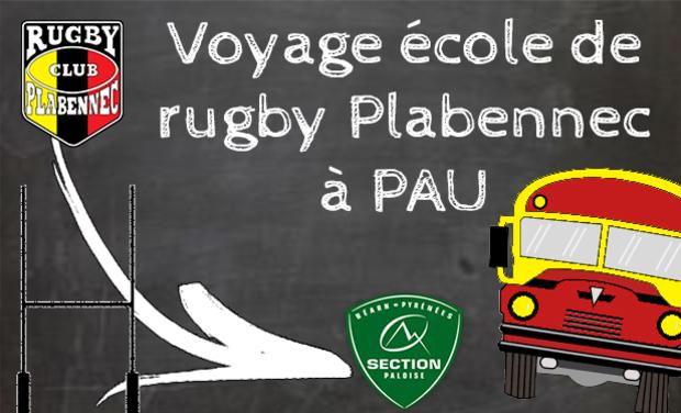 Visuel du projet Voyage de l'école de rugby à Pau
