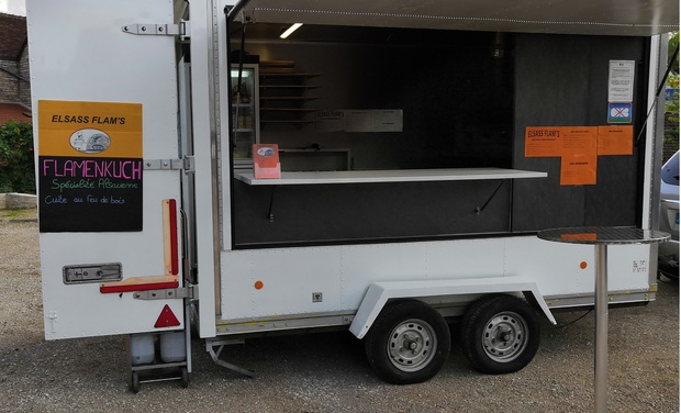 Project visual Elsass flam's le food truck Alsacien