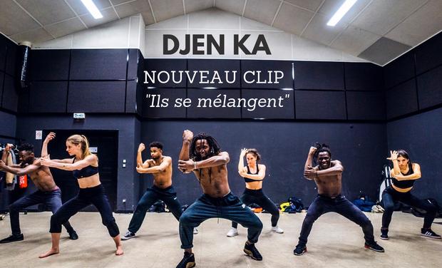 """Project visual Djen Ka - Nouveau CLIP """"ils se mélangent"""""""