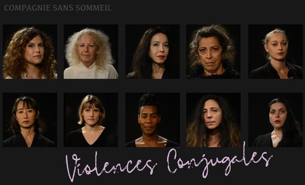 Visuel du projet Cie Sans Sommeil - Violences Conjugales                     Paris 6-7 avril 2019