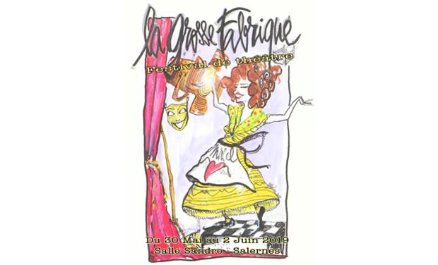 """Visuel du projet """"La Grosse Fabrique"""" - Festival de Théâtre en milieu rural"""