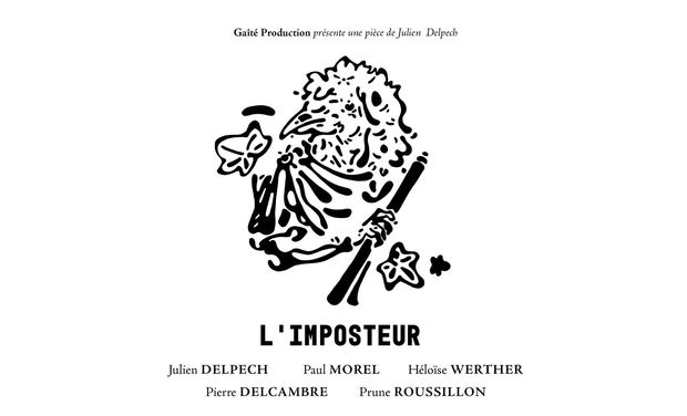 Visuel du projet L'imposteur ? une pièce de Julien Delpech