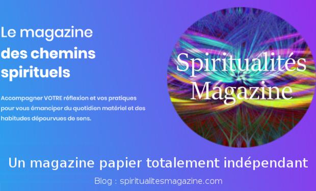 Project visual Spiritualités Magazine
