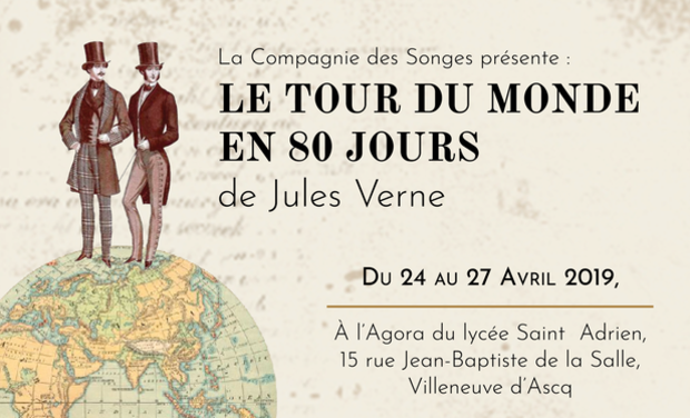 Project visual Le Tour du Monde en 80 Jours