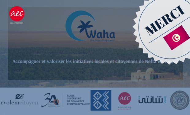 Visuel du projet WAHA !