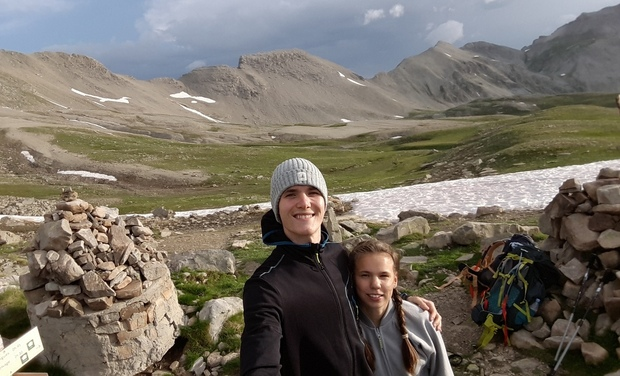 Project visual Une aventure entre un frère et une sœur :  le GR 20 Corse