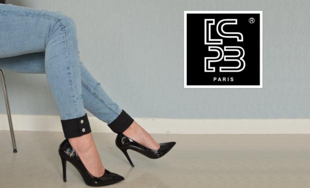 Project visual LSPB Paris, La marque parisienne de jeans 100% féminine