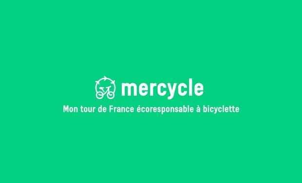 Visuel du projet Mercycle, tour de France écoresponsable à vélo