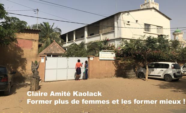 Visuel du projet A Claire Amitié Kaolack, former plus de femmes, et les former mieux