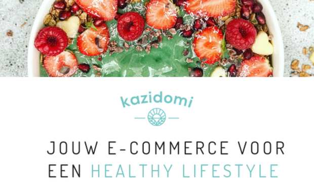 Visueel van project Kazidomi, de healthy e-shop