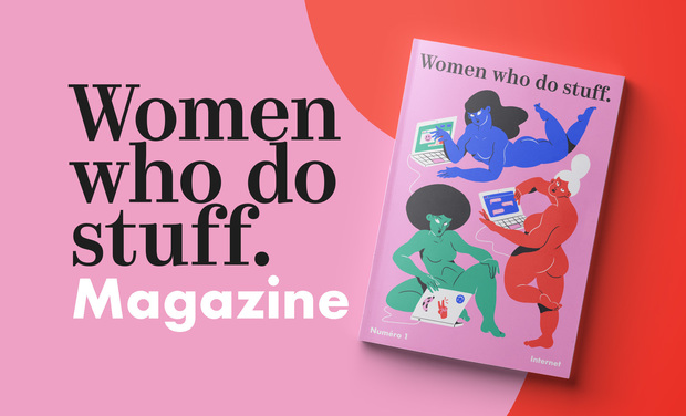 Project visual Magazine Women who do stuff.