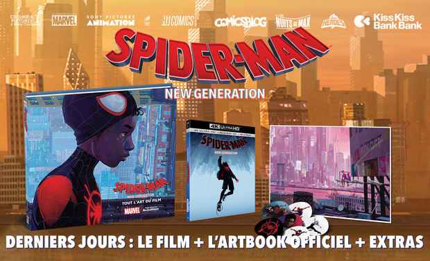Visuel du projet Spider-Man New Generation : le film + l'artbook officiel