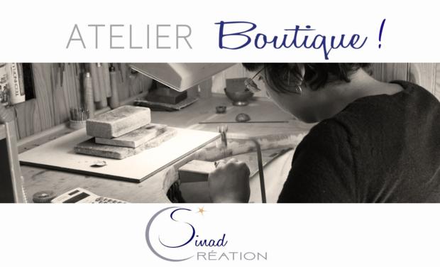 Visuel du projet Ouverture de l'Atelier-Boutique - Sinad_Création
