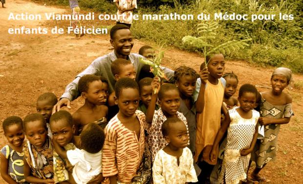 Visuel du projet Action Viamundi court le marathon du médoc