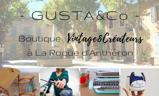 Visueel van project Gusta&Co - Boutique Vintage & Créateurs à La Roque d'Anthéron